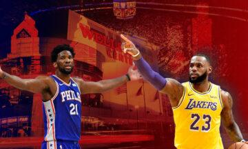 Filadelfia 76ers VS Los Angeles Lakers