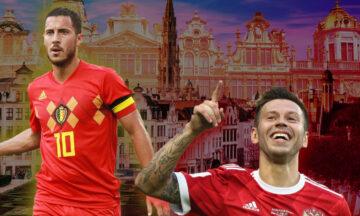 Bélgica vs Rusia